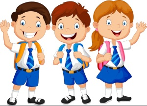 school-children-vector-5127743